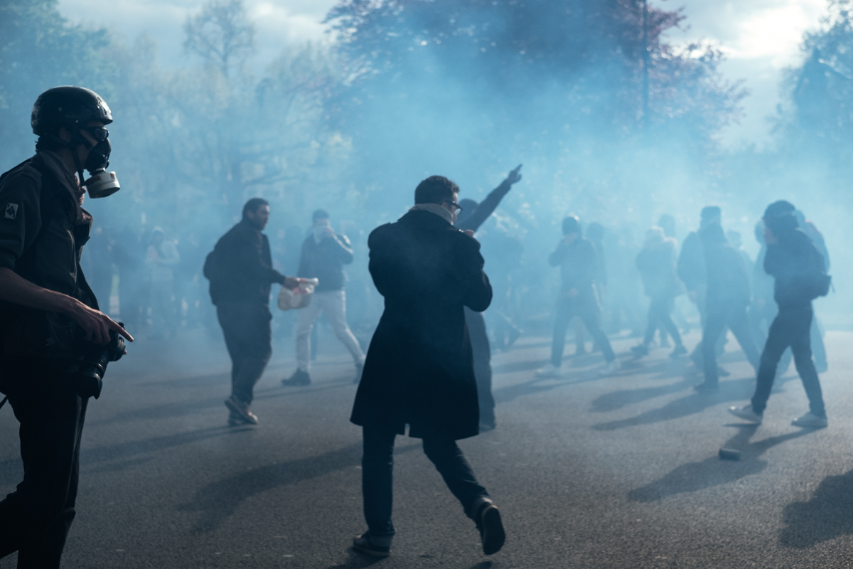 Violent clashes in Nation on the sidelines of the demonstration against the labor law