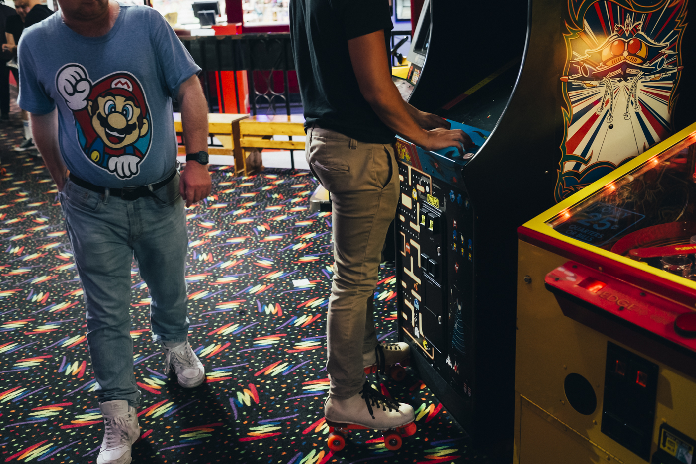 Particular attention has been paid to preserving vintage games such as arcade games