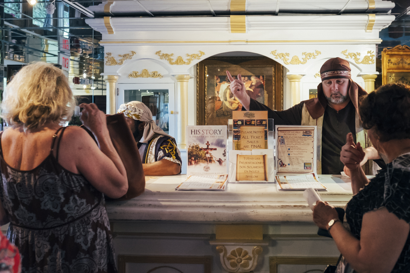 The Holy Land Experience ticket office.